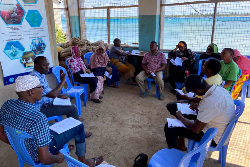 Blog: Reflections from my balcony: working with community fisheries management groups in Kwale County